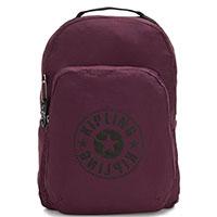 Складной рюкзак Kipling Packable Bags Seoul Packable сливового цвета, фото