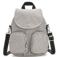 Серый рюкзак Kipling Peppery Firefly Up, фото