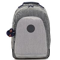 Серый рюкзак Kipling BTS Class Room с отделением для ноутбука, фото