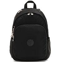 Средний рюкзак Kipling Twill Plus Delia Galaxy Black, фото