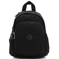 Маленький черный рюкзак Kipling Basic Elevated Delia Mini, фото