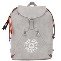 Текстильный рюкзак Kipling Blank Canvas Fundamental светло-серый, фото