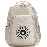 Рюкзак для ноутбука Kipling New Classics Plus Seoul Cloud Metal C, фото