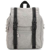 Рюкзак Kipling Peppery Aicil светло-серого цвета, фото