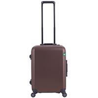 Маленький коричневый чемодан 40х54,2х23см Lojel Rando размера ручной клади, фото