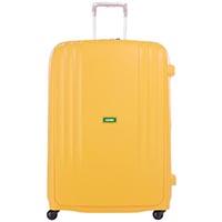 Желтый вместительный чемодан 56x82,5x32см Lojel Streamline на телескопической ручке, фото