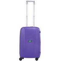 Малый фиолетовый чемодан 35х55х23,5см Lojel Streamline с выдвижной ручкой на колесиках, фото