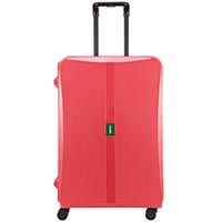 Большой розовый чемодан 51,3х75,4х30,6см Lojel Octa 2 на колесиках и с защелками на замках, фото