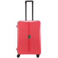 Средний чемодан 43,6x64,8x26,8см Lojel Octa 2 розового цвета с матовым покрытием с замками, фото