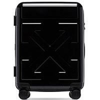 Черный чемодан Off-White с логотипом, фото