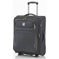 Маленький чемодан 40x55x20-24см Titan Nonstop серый, фото