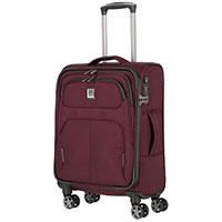 Маленький чемодан 39x55x20см Titan Nonstop бордовый, фото