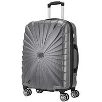 Серый чемодан 65x45x25см Titan Triport с дизайном корпуса в виде пропеллера, фото