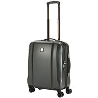 Матовый чемодан 56x45х25см Titan Xenon Deluxe с металлической шильдой, фото