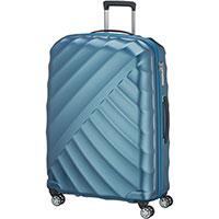 Большой чемодан 52x77x29см Titan Shooting Star синий, фото