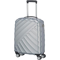 Маленький чемодан Titan Shooting Star серебристый, фото