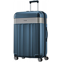 Большой синий чемодан 51x76x30см Titan Spotlight Flash, фото