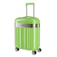 Малый чемодан 40x55x20см Titan Spotlight Flash Flashy Kiwi зеленого цвета, фото