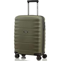 Маленький чемодан 40x55x20см Titan Highlight цвета хаки, фото