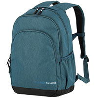 Рюкзак Travelite Kick off 69 округлой формы зеленого цвета, фото