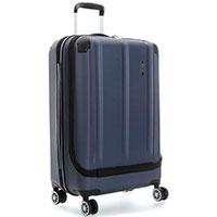 Средний чемодан Travelite City синего цвета 44x68x26см, фото