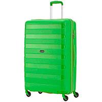 Чемодан на колесах Travelite Nova зеленого цвета 50x75x30см, фото