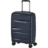 Чемодан на колесах 39x55x20см Travelite Motion синего цвета, фото