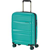 Чемодан на колесах 39x55x20см Travelite Motion бирюзового цвета, фото