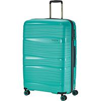 Большой бирюзовый чемодан 51x77x30см Travelite Motion, фото