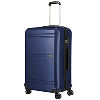 Большой чемодан 48x76x30см Travelite Yamba 8w синего цвета, фото