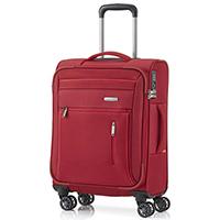 Чемодан красного цвета 55x38х20см Travelite Capri с замком блокировки TSA, фото