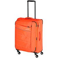 Оранжевый чемодан Travelite Kite 42x64x27/31см, фото