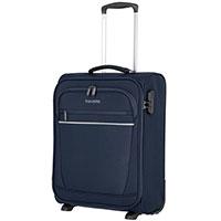 Маленький чемодан 40x55x20см Travelite Cabin синего цвета, фото