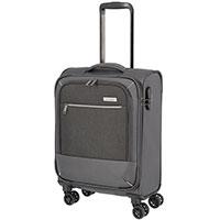 Маленький чемодан Travelite Arona серого цвета, фото
