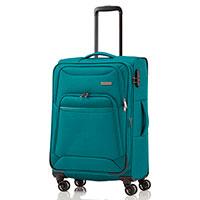 Чемодан на колесах Travelite Kendo синего цвета 42x66x26/30см, фото