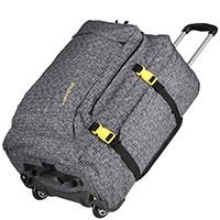 Чемодан-рюкзак 34x47x20см Travelite Basics серого цвета, фото