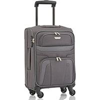 Маленький чемодан Travelite Orlando серого цвета, фото