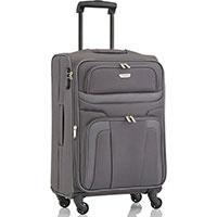 Средний чемодан 42x65x25см Travelite Orlando серого цвета, фото