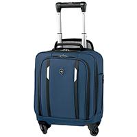 Синий маленький чемодан 44х36х25см Victorinox Werks Traveler 5.0 Wheeled Tote, фото