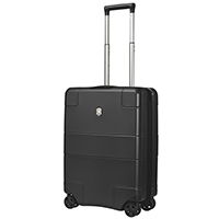 Маленький черный чемодан 55х40х20см Victorinox Lexicon из поликарбоната, фото
