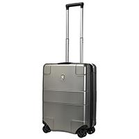 Серый чемодан 55х40х20см Victorinox Lexicon размера ручной клади, фото