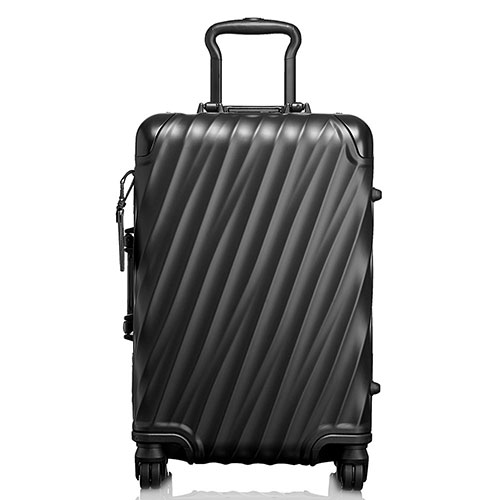 Черный чемодан Tumi 19 Degree Aluminium Carry-On 56х35,5х23см, фото