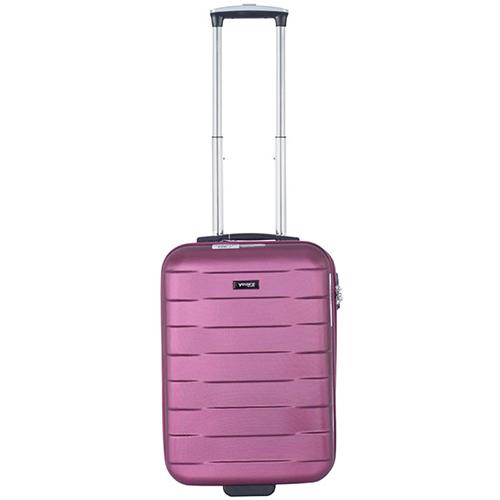 Маленький малиновый чемодан 55х35х20см March Bumper с замком блокировки TSA, фото