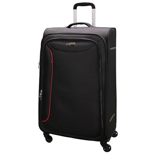 Большой чемодан 78х47х29см March Delta с корпусом черного цвета, фото