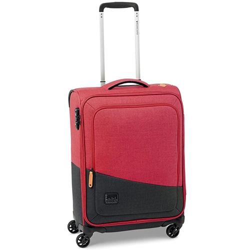 Маленький чемодан 55x40х20см Roncato Adventure в красно-черном цвете, фото