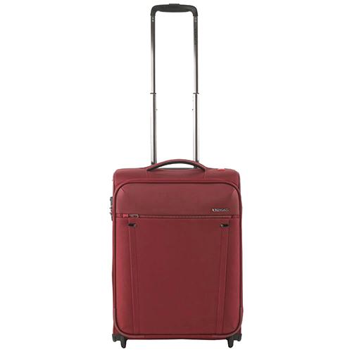 Бордовый маленький чемодан 55х40х20см Roncato Zero Gravity с кодовой блокировкой TSA, фото