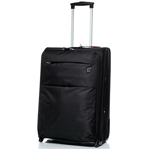 Черный чемодан большого размера 73х46х30см Modo by Roncato Cloud Young из нейлона, фото