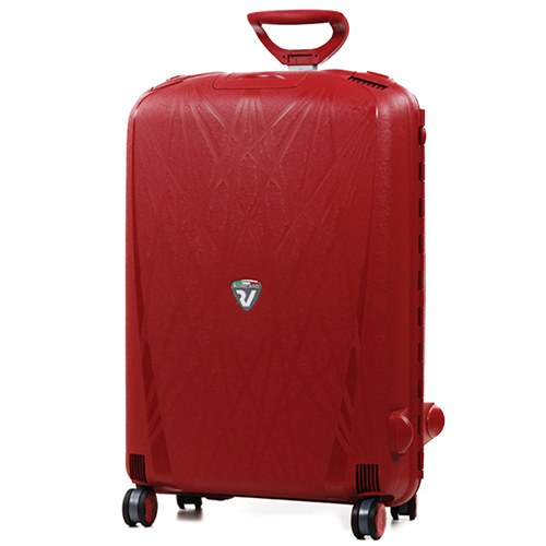 Красный чемодан среднего размера 68x48x27см Roncato Light с кодовым замком TSA, фото