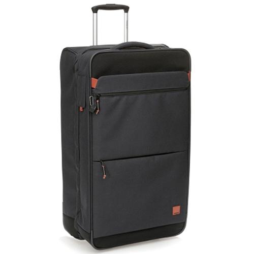 Очень большой чемодан 79x29x41,5см Hedgren Escapade с корпусом серого цвета, фото