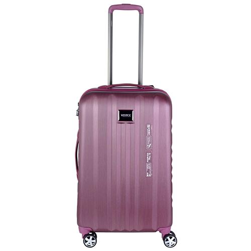 Среднего размера розовый чемодан 65x26x40см March Fly с телескопической ручкой, фото